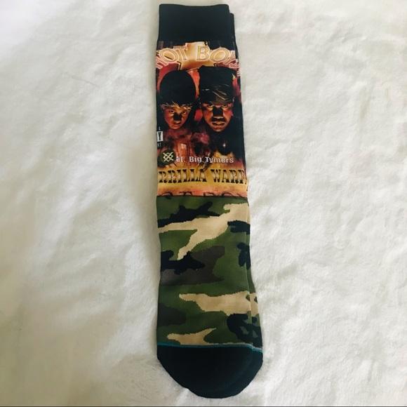 3/$20 or 4/$25 Stance Hot Boy Camo Socks NWOT- L